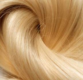 long blond human hair