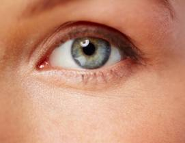 Human eye looking at you