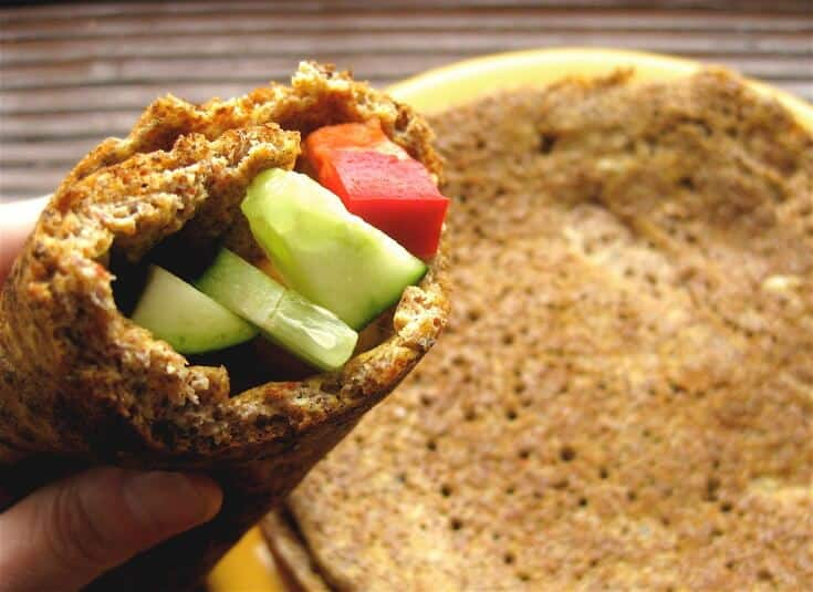 Easy Flaxseed Wrap
