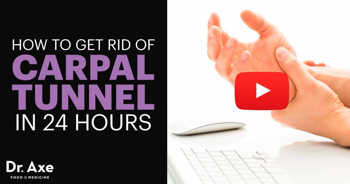 How to Get Rid of Carpal Tunnel in 24 Hours  Dr Axe