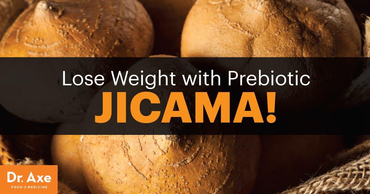 Jicama Full Of Prebiotic Fiber It Helps Weight Loss Dr