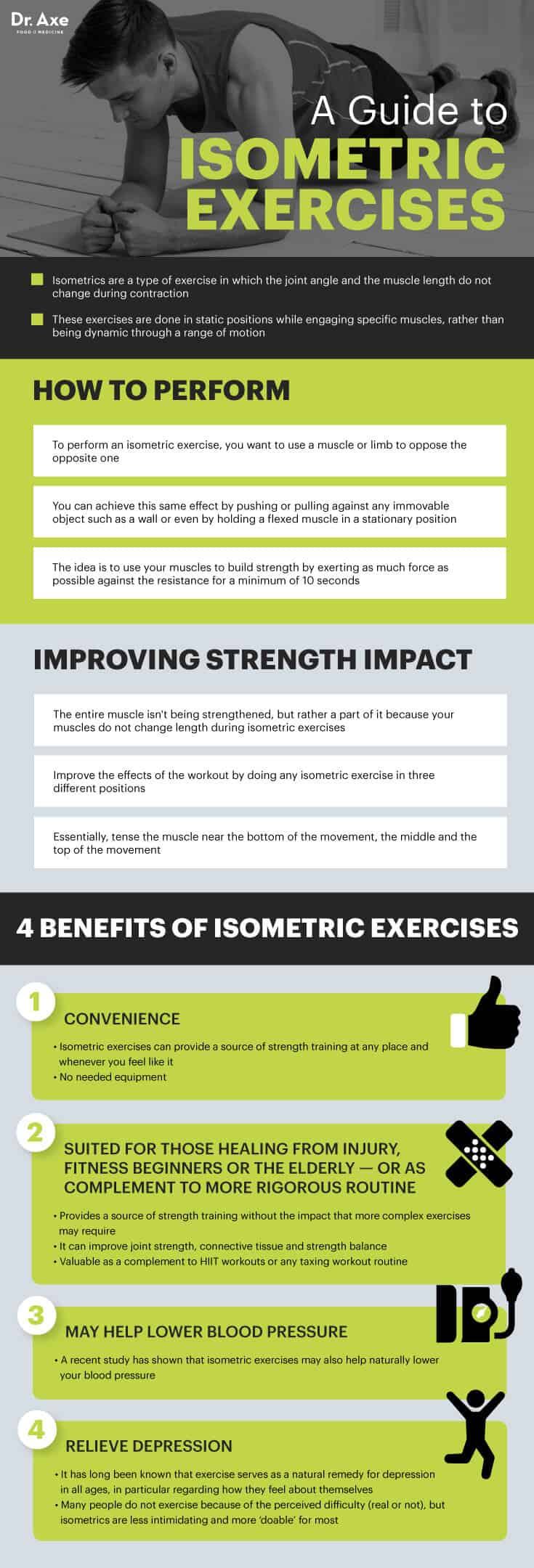 Guide to isometrics - Dr. Axe