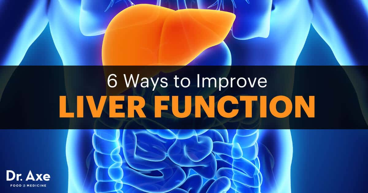 How to Improve Liver Function in 6 Steps  Dr Axe