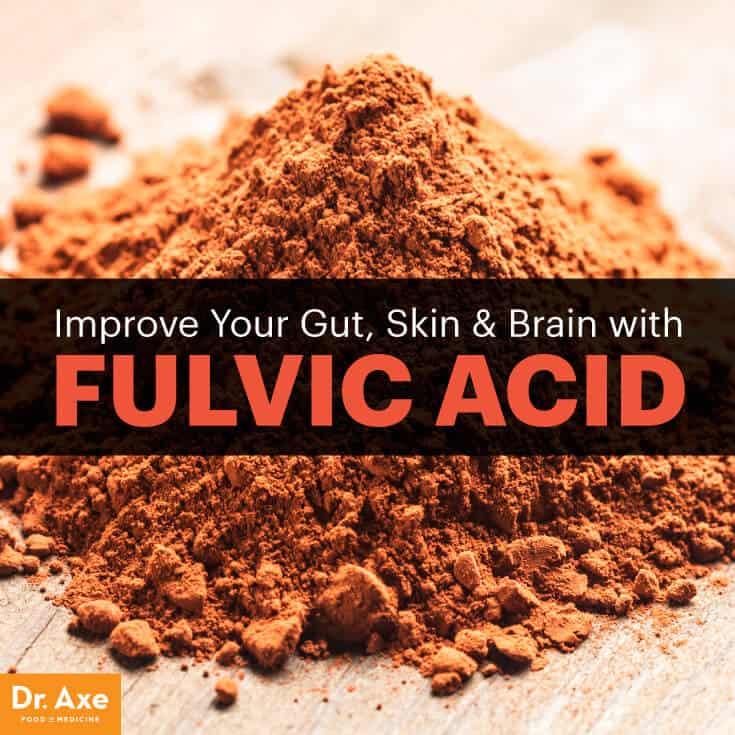 Fulvic acid - Dr. Axe