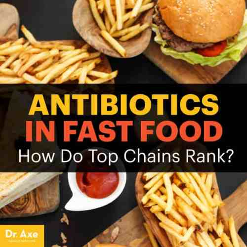 Antibiotics in fast food - Dr. Axe