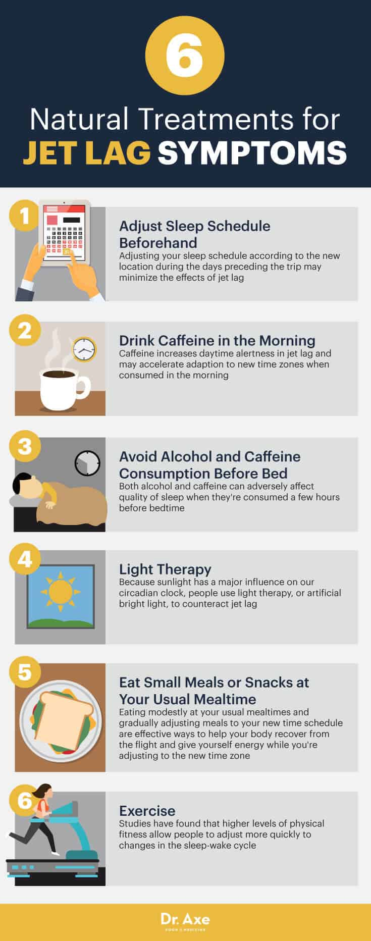 Natural treatments for jet lag symptoms - Dr. Axe
