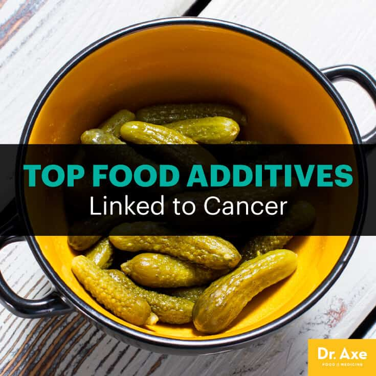 Food additive and colon cancer - Dr. Axe