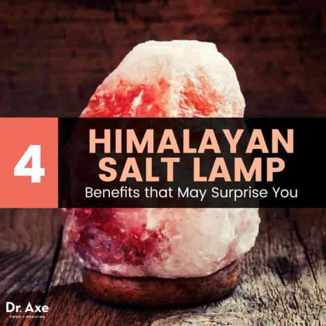Himalayan salt lamp - Dr. Axe