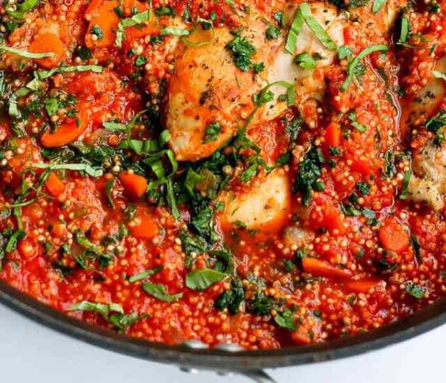 Italian Chicken & Quinoa Recipe