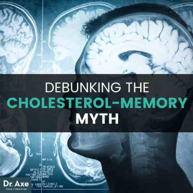 Eggs cholesterol dementia - Dr. Axe