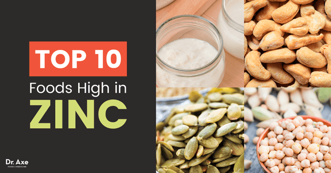 Top 15 Foods High In Zinc And Their Health Benefits