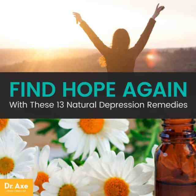Find hope again: natural depression remedies - Dr. Axe