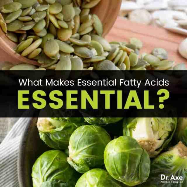 Essential fatty acids - Dr. Axe