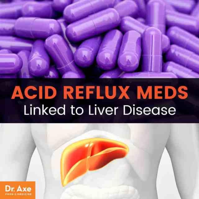 Acid reflux medication liver disease - Dr. Axe