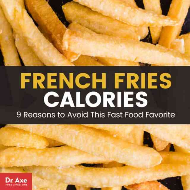 French fries calories - Dr. Axe