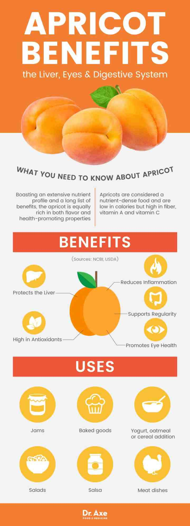 Apricot benefits - Dr. Axe