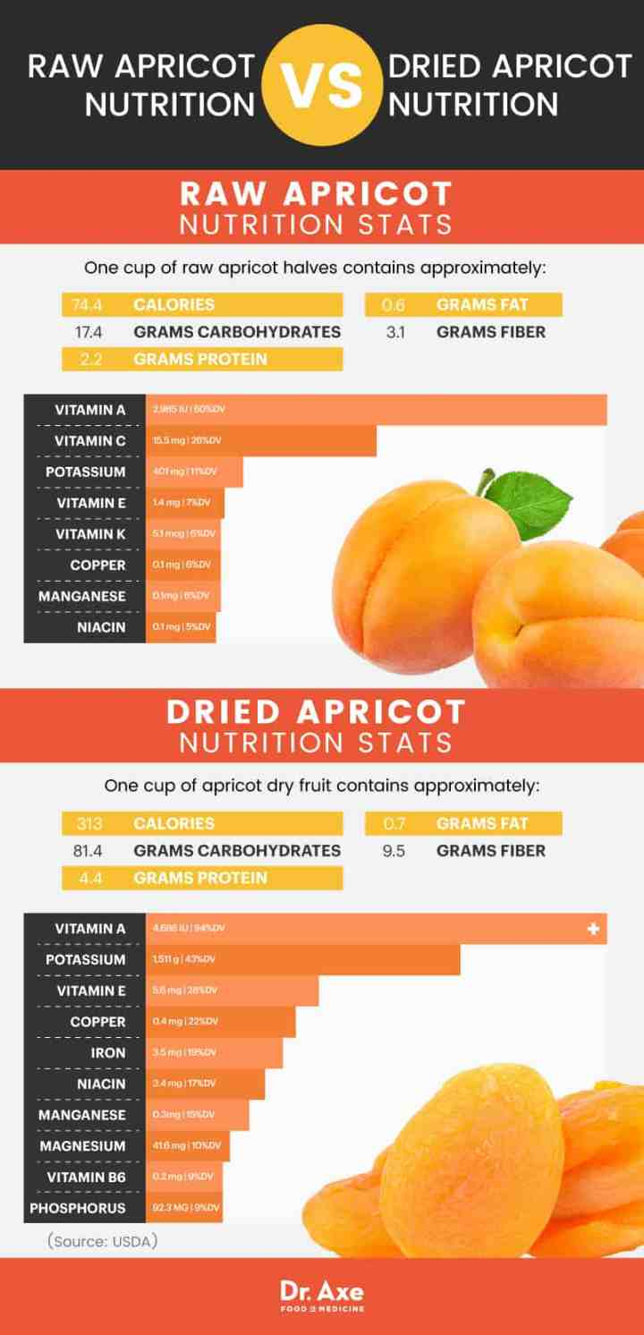 Apricot nutrition - Dr. Axe