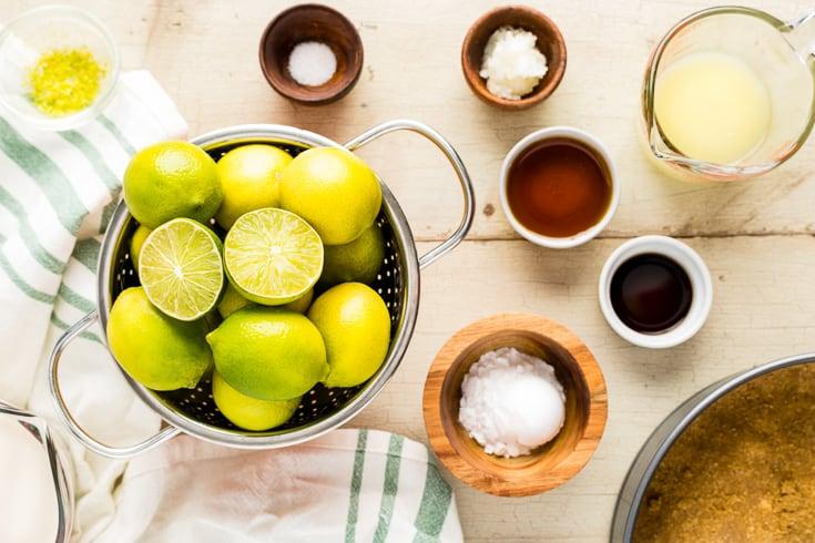 Key lime pie recipe ingredients - Dr. Axe