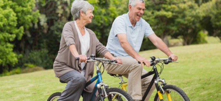 Cycling into old age - Dr. Axe