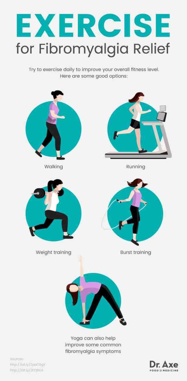 Natural fibromyalgia treatment: exercises
