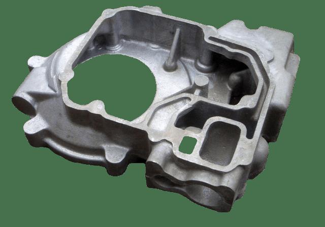 Aluminium LM25TF Pump Adapter Casting