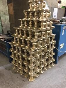 """1"""" Aluminium Bronze Gate Valves"""
