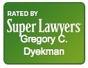 This Cheyenne attorney is rated by Super Lawyers. Graphic