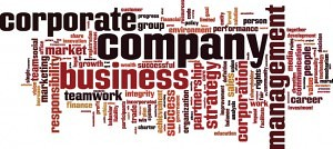 Corporate and Business Law Word Cloud image