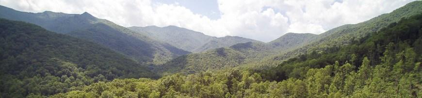 Blue Ridge Mountains and Appalachian Mountains