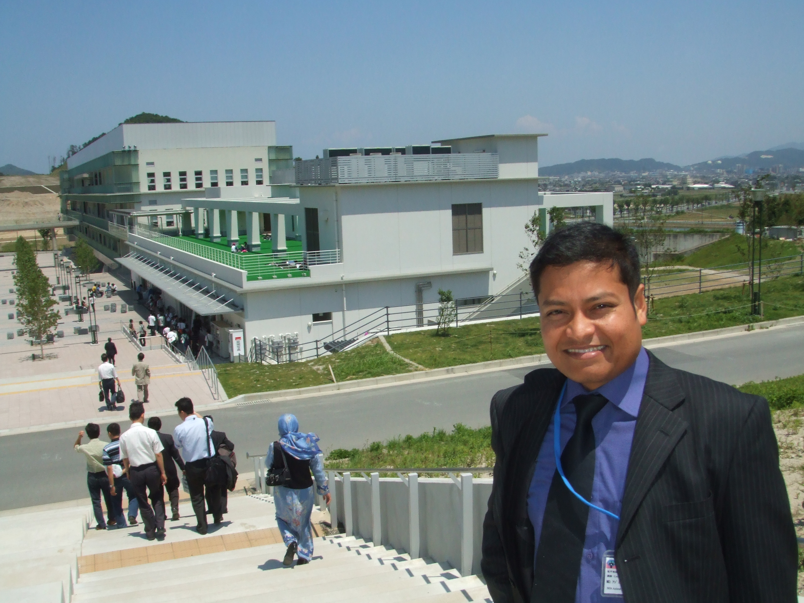Its me in Kyushu University Campus