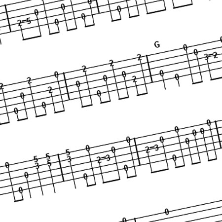 Tablatures from Pete Wernick – Letterman Show