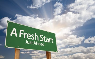 #74: A Clean Slate, Fresh Start, or New day can Make All the Difference [Podcast]