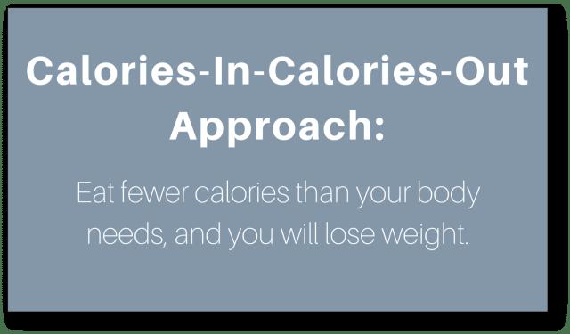 secret to weight loss - approach (1)