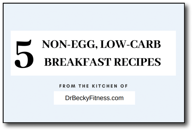 Non-egg Breakfast Recipes