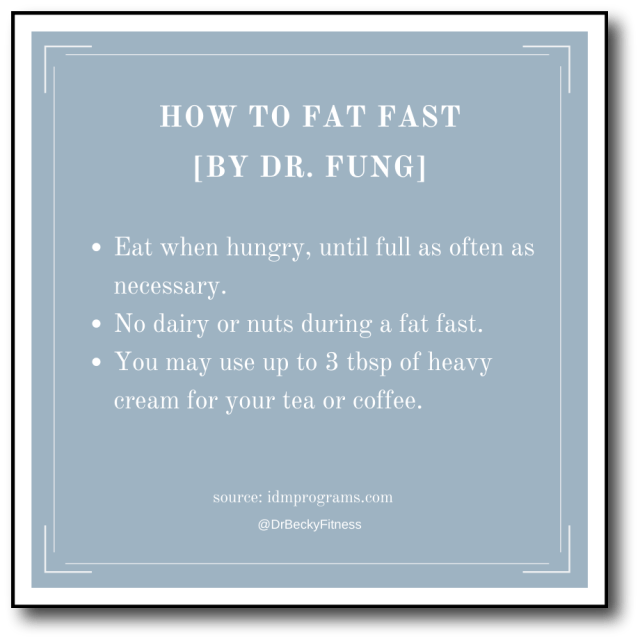 Fat Fasting by Dr. Fung