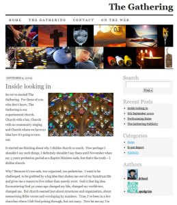 The Gathering Website