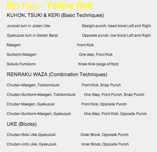 yellow-belt