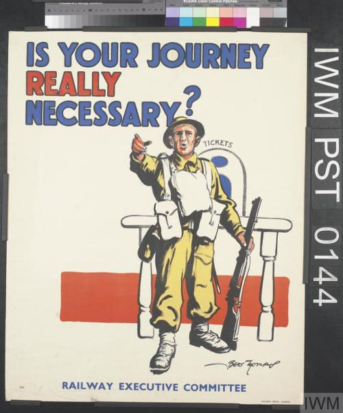 Is Your Journey Really Necessary? (IWM File)