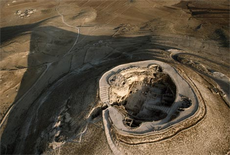 Skyview of the Herodium