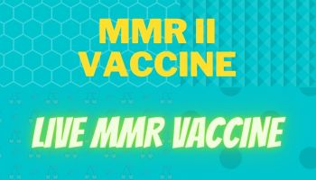 MMR II vaccine: A live attenuated MMR vaccine