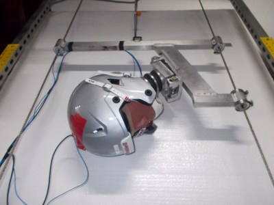 risk of brain injuries measured by helmet test system - Dr. John Lloyd