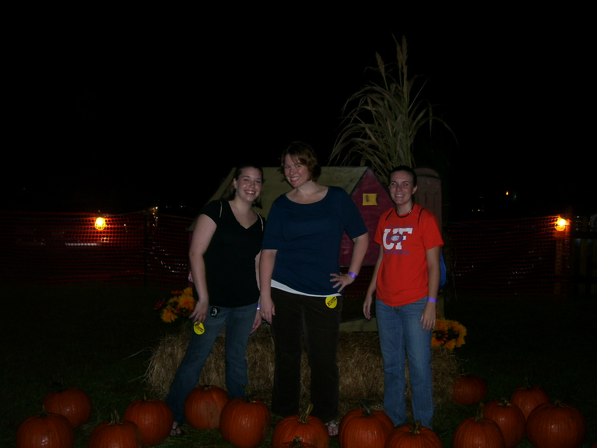 october 2008. i'm in the middle.