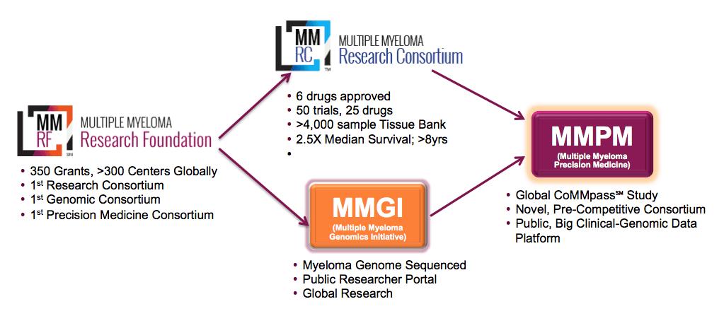 MMRF chart of achievements