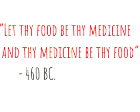 Let anti-inflammatory foods be thy medicine.