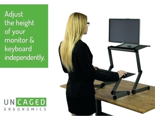 Try a standing desk to rebalance your head and neck