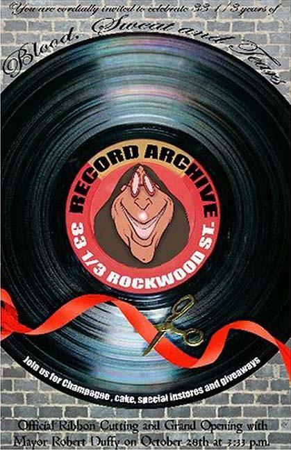 Record Archive 33.3