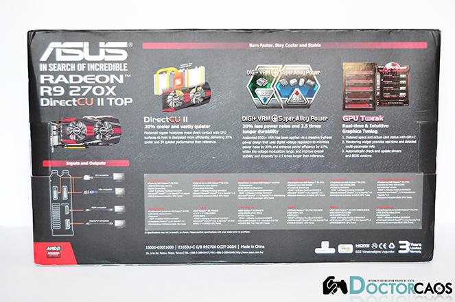 ASUS DirectCU II TOP Radeon R9 270X (2)
