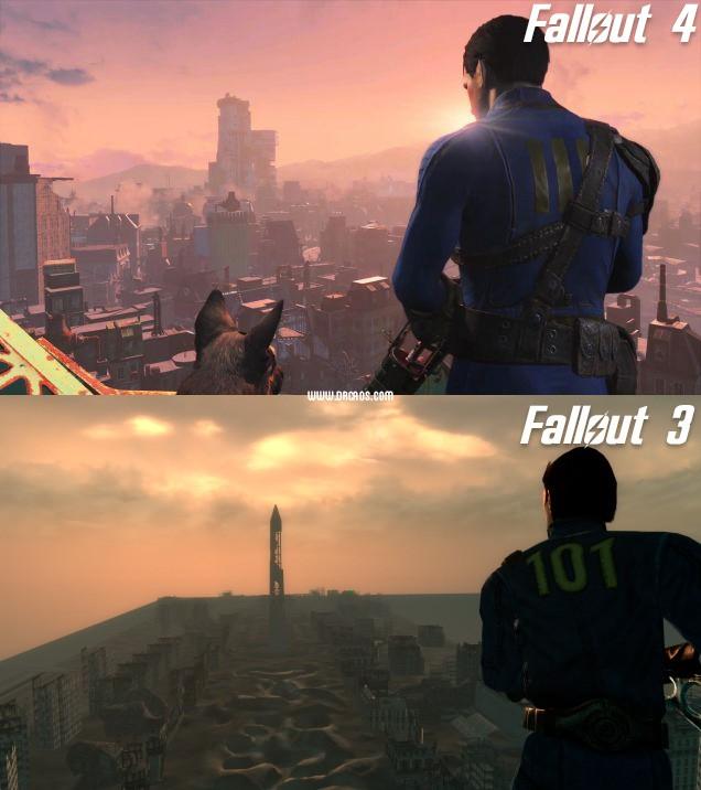 fallout 3 vs fallout 4-2