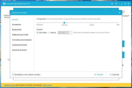 hacer copias de seguridad de tu PC