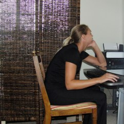 Proper Chair Posture At Computer Covers For Dining Room Table Poor Dr Russell D Caram Chiropractor